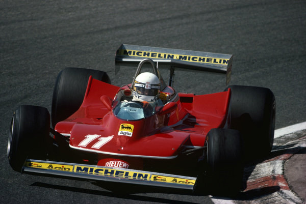 Jody Scheckter, Ferrari 312T4.