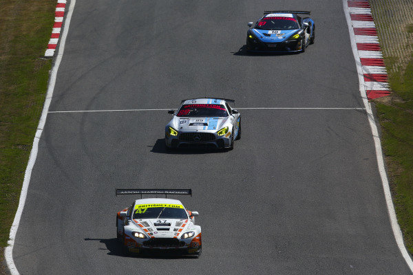 Graham Davidson / Maxime Martin Jetstream Motorsport Aston Martin V12 Vantage GT3