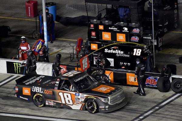 #18: Chandler Smith, Kyle Busch Motorsports, Toyota Tundra JBL