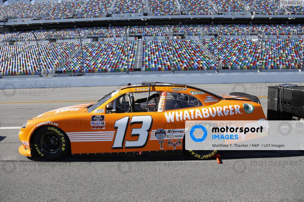 #13: David Starr, Motorsports Business Management, Toyota Supra Whataburger