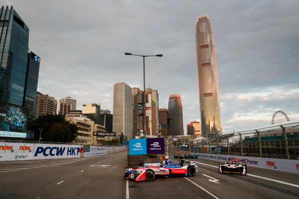 2017/2018 FIA Formula E Championship. Round 1 - Hong Kong, China. Saturday 02 December 2017. Nick Heifeld (GER), Mahindra Racing, Mahindra M4Electro. Photo: Sam Bloxham/LAT/Formula E ref: Digital Image _J6I3745