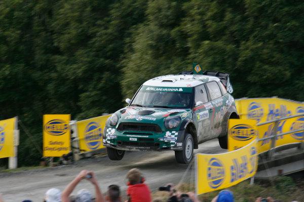 Round 7, Rally New Zealand, 21st-24th June 2012Paulo Nobre, Mini, Action.