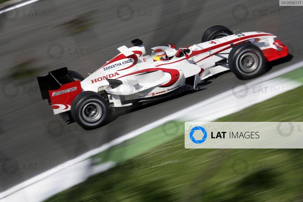 2006 San Marino Grand Prix - Saturday Practice Imola, Italy. 20th - 23rd April 2006 Yuji Ide, Super Aguri SA05-Honda, action. World Copyright: Steven Tee/LAT Photographic ref: Digital Image YY2Z7700