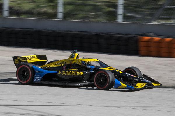 #26: Zach Veach, Andretti Autosport Honda