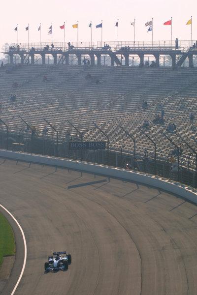 2002 American Grand Prix.Indianapolis, Indiana, USA. 27-29 September 2002.Heinz-Harald Frentzen (Sauber C21 Petronas).World Copyright - LAT Photographicref: Digital File Only