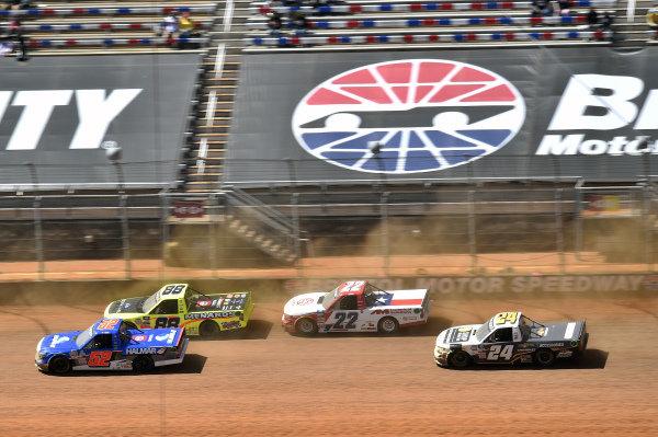 #52: Stewart Friesen, Halmar Friesen Racing, Toyota Tundra Halmar International, #88: Matt Crafton, ThorSport Racing, Toyota Tundra ThorSport Racing