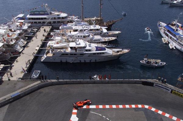 2000 Monaco Grand Prix.Monte Carlo, Monaco.1-4 June 2000.Michael Schumacher (Ferrari F1-2000).World Copyright - LAT Photographic