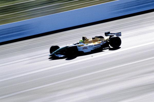 2002 Rockingham CART, Rockingham Speedway, England14 September, 2002Christian Fittipaldi. 48MB file-2002, Michael L. Levitt, USALAT Photographic