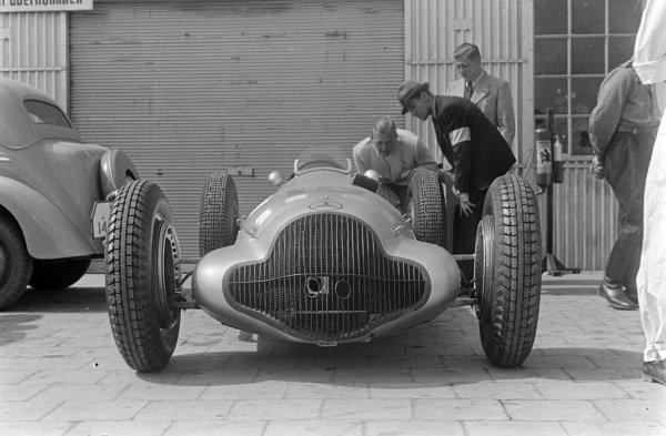 Richard Seaman's Mercedes-Benz W154.
