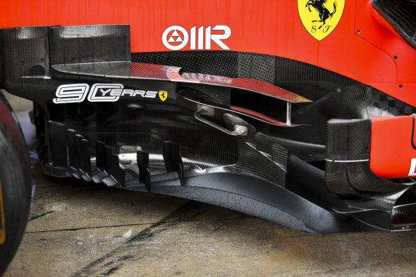 Aero detail on Ferrari SF90
