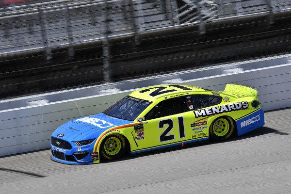 #21: Paul Menard, Wood Brothers Racing, Ford Mustang Menards / NIBCO