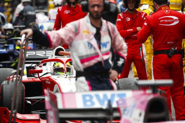Mick Schumacher (DEU, PREMA RACING) in pit lane