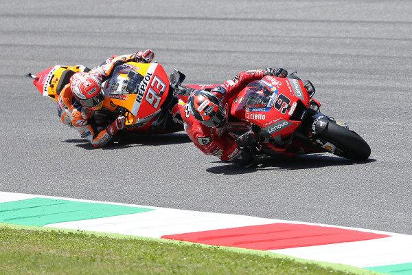 Marc Marquez, Repsol Honda Team & Danilo Petrucci, Ducati Team.