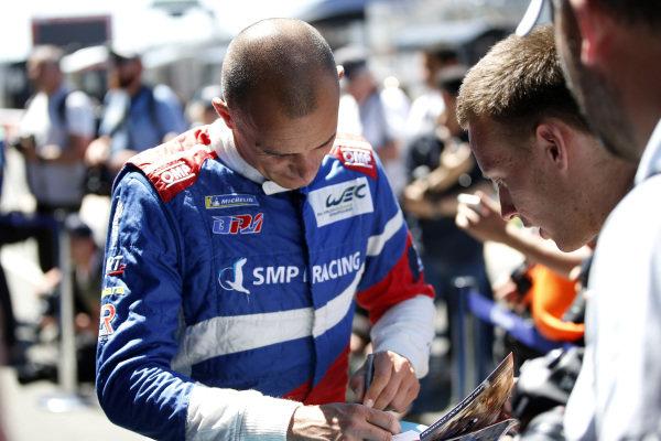 #17 SMP Racing BR Engineering BR1: Stéphane Sarrazin.