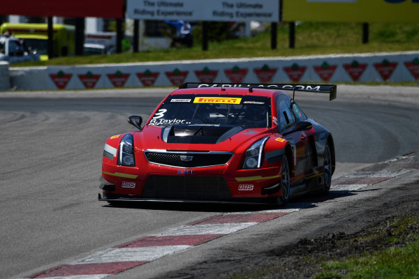 Pirelli World Challenge Victoria Day SpeedFest Weekend Canadian Tire Motorsport Park, Mosport, ON CAN Saturday 20 May 2017 Johnny O'Connell/Ricky Taylor World Copyright: Richard Dole/LAT Images ref: Digital Image RD_CTMP_PWC17077