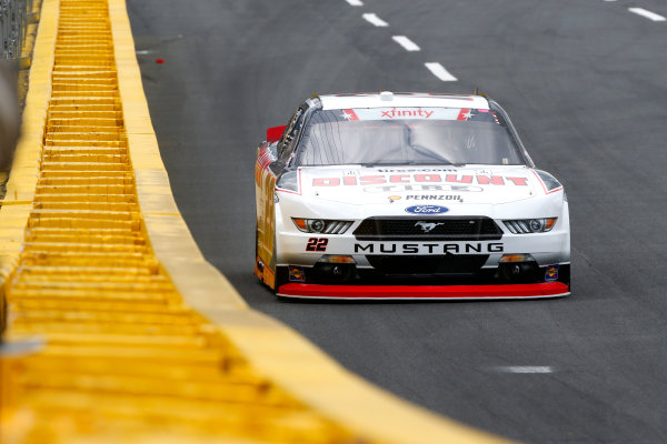 NASCAR Xfinity Series Hisense 4K TV 300 Charlotte Motor Speedway, Concord, NC USA Thursday 25 May 2017 Brad Keselowski, Discount Tire Ford Mustang World Copyright: Lesley Ann Miller LAT Images