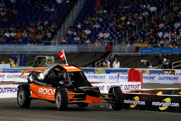 2017 Race of Champions Miami, Florida, USA Sunday 22 January 2017 Tom Kristensen, RoC Buggy World Copyright: Alexander Trienitz/LAT Photographic ref: Digital Image 2017-RoC-MIA-AT2-2868