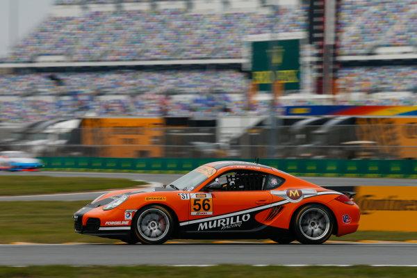 26-27 January, 2017, Daytona Beach, Florida USA 56, Porsche, Porsche Cayman, ST, Jeff Mosing, Eric Foss World Copyright: Jake Galstad/LAT Images