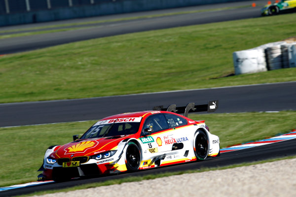 2017 DTM Round 2 Lausitzring, Germany. Friday 19 May 2017. Augusto Farfus, BMW Team RMG, BMW M4 DTM World Copyright: Alexander Trienitz/LAT Images ref: Digital Image 2017-DTM-R2-ESL-AT1-0919