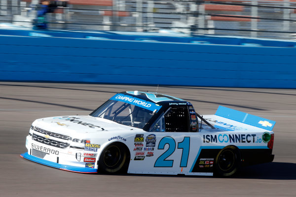 NASCAR Camping World Truck Series  Lucas Oil 150 Phoenix Raceway, Avondale, AZ USA Friday 10 November 2017 Johnny Sauter, ISMConnect Chevrolet Silverado World Copyright: Lesley Ann Miller LAT Images