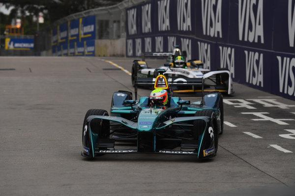 2017/2018 FIA Formula E Championship. Round 1 - Hong Kong, China. Saturday 02 December 2018. Oliver Turvey (GBR), NIO Formula E Team, NextEV NIO Sport 003. Photo: Mark Sutton/LAT/Formula E ref: Digital Image DSC_8354