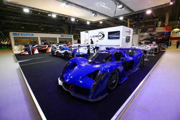 Autosport International Exhibition. National Exhibition Centre, Birmingham, UK. Sunday 14th January, 2018. The Ligier stand.World Copyright: Mike Hoyer/JEP/LAT Images Ref: AQ2Y9464
