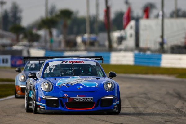 16-18 March, 2016, Sebring, Florida, USA 47, Andrew Longe, Platinum, 2015 Porsche ?2016, Jake Galstad LAT Photo USA