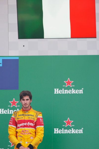 Antonio Giovinazzi (ITA, PREMA Racing)  2016 GP3 Series Round 7 Autodromo Nazionale di Monza, Italy. Sunday 4 September 2016  Photo: /GP3 Series Media Service ref: Digital Image _SLA7961