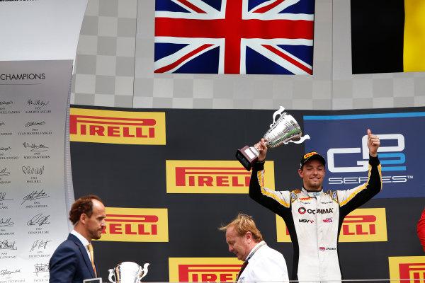 2014 GP2 Series Round 7. Hungaroring, Budapest, Hungary. Sunday 27 July 2014. Jolyon Palmer (GBR, DAMS)  Photo: Sam Bloxham/GP2 Series Media Service. ref: Digital Image _SBL9492
