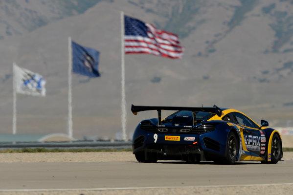 11-13 September,  2014, Tooele,  Utah,  USA #9, K-PAX McLaren 12C GT3, Alex Figge ©2014, Richard Dole LAT USA