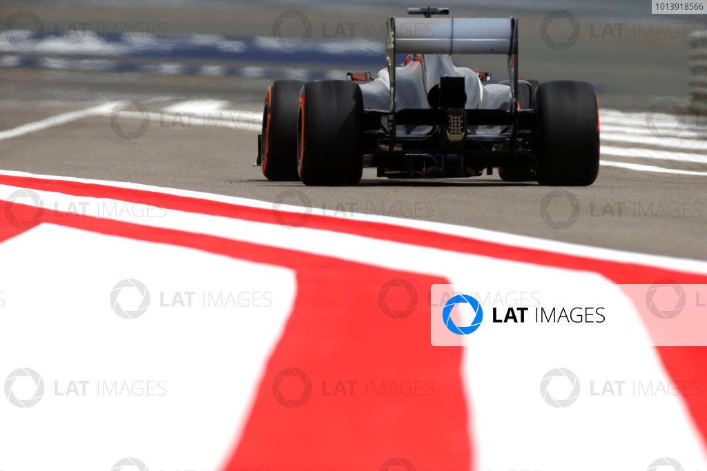 Bahrain International Circuit, Sakhir, Bahrain Friday 19th April 2013 Nico Hulkenberg, Sauber C32 Ferrari.  World Copyright: Glenn Dunbar/LAT Photographic ref: Digital Image _89P0053