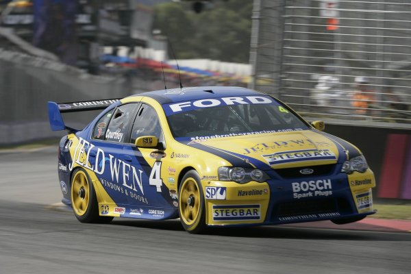 2007 Australian V8 Supercars - Clipsal 500.Adelaide, Australia. 1st - 4th March 2007.James Courtney (Stone Brothers Racing Ford Falcon BF). Action. World Copyright: Mark Horsburgh/LAT Photographicref: Digital Image Courtney-SBR-RD1-06-17401
