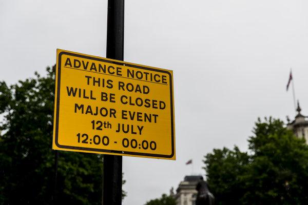 F1 Live London. London, United Kingdom. Tuesday 11 July 2017. Preparations for F1 Live London. World Copyright: Zak Mauger/LAT Images ref: Digital Image _56I5423