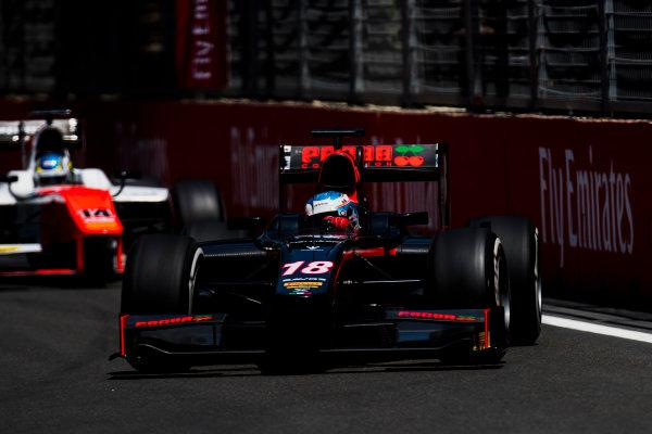2017 FIA Formula 2 Round 4. Baku City Circuit, Baku, Azerbaijan. Friday 23 June 2017. Nyck De Vries (NED, Rapax)  Photo: Zak Mauger/FIA Formula 2. ref: Digital Image _54I9635