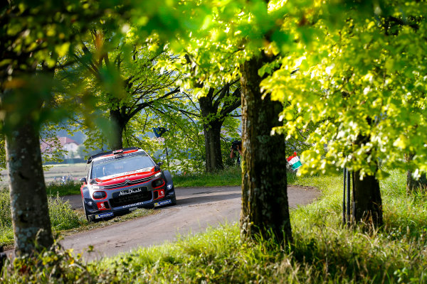 2017 FIA World Rally Championship, Round 10, Rallye Deutschland, 17-20 August, 2017, Andreas Mikkelsen, Citroen, action, Worldwide Copyright: McKlein/LAT