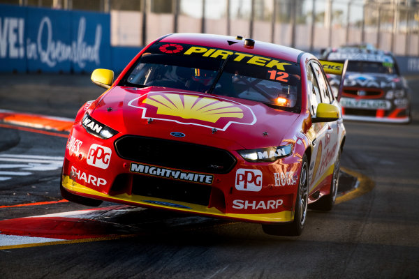 2017 Supercars Championship Round 12.  Gold Coast 600, Surfers Paradise, Queensland, Australia. Friday 20th October to Sunday 22nd October 2017. Fabian Coulthard, Team Penske Ford.  World Copyright: Daniel Kalisz/LAT Images Ref: Digital Image 201017_VASCR12_DKIMG_1568.jpg