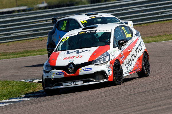 Renault Clio Cup Rockingham, 26th-27th August 2017, Nathan Harrison (GBR) JamSport Racing Renault Clio Cup  World copyright.. JEP/LAT Images