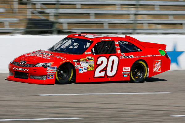2-4 November, 2012, Fort Worth, Texas USA Joey Logano, The Home Depot Toyota Camry.(c)2012, LAT South LAT Photo USA .