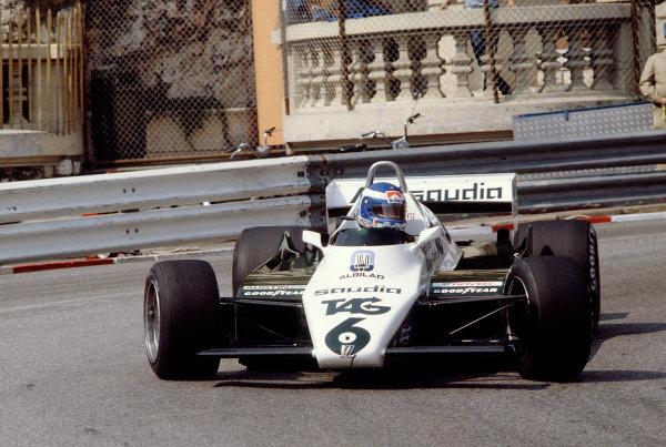 1982 Monaco Grand Prix.Monte Carlo, Monaco.20-23 May 1982.Keke Rosberg (Williams FW08 Ford).Ref-82 MON 90.World Copyright - LAT Photographic