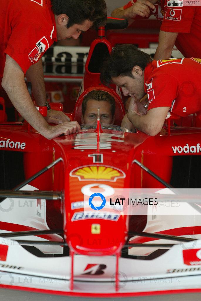 2003 San Marino Grand Prix - Thursday