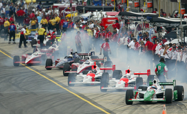 2003 IRL IndyCar Michigan