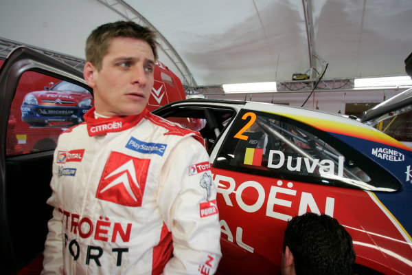 2005 FIA World Rally Champs. Round two Swedish Rally.10th-13th February 2005.Francois Duval. Citroen, portrait.World Copyright: McKlein/LAT