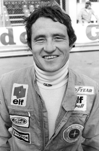 Patrick Depailler (FRA) Tyrrell, retired from the race on lap 47 with brake and gearbox trouble.Monaco Grand Prix, Rd 6, Monte Carlo, Monaco, 22 May 1977.