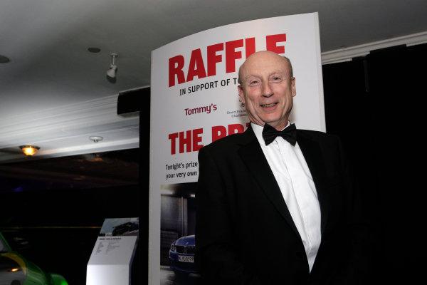 2013 Autosport Awards. Grosvenor House Hotel, Park Lane, London. Sunday 1st December 2013 Winner of the raffle prize World Copyright: Sam Bloxham/LAT Photographic. ref: Digital Image _LOX6350