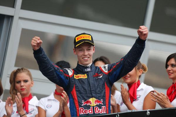 2013 GP3 Series. Round 7.  Autodromo di Monza, Monza, Italy. 8th September.  Sunday Race. Daniil Kvyat (RUS, MW Arden) World Copyright: Andrew Ferraro/GP3 Media Service. ref: Digital Image _79P2811.JPG