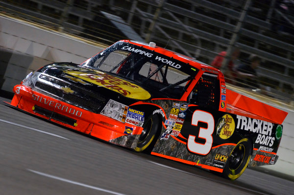 October 31-November 01, 2013, Fort Worth, Texas USA Ty Dillon truck © 2013, Brian Czobat LAT Photo USA