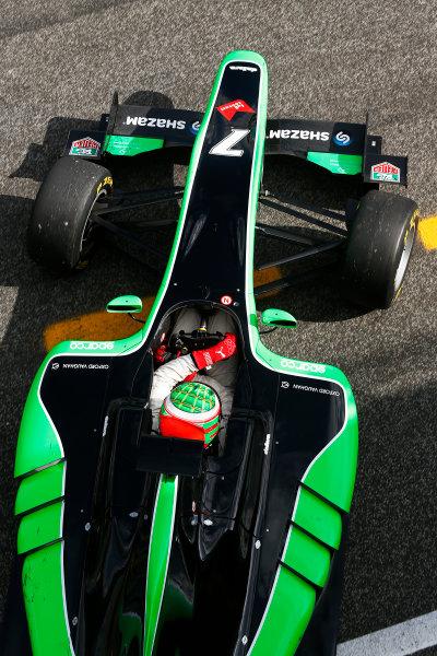 2014 GP3 Series Test 1. Estoril, Portugal.  Thursday 19 March 2015. Seb Morris (GBR, Status Grand Prix)  Photo: Sam Bloxham/GP3 Series Media Service. ref: Digital Image _SBL0694