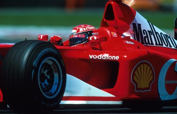 Michael Schumacher (GER) Ferrari F2002 took the 150th victory for Ferrari and his sixth win from eight starts this year.Canadian Grand Prix, Montreal, 9 June 2002.BEST IMAGE