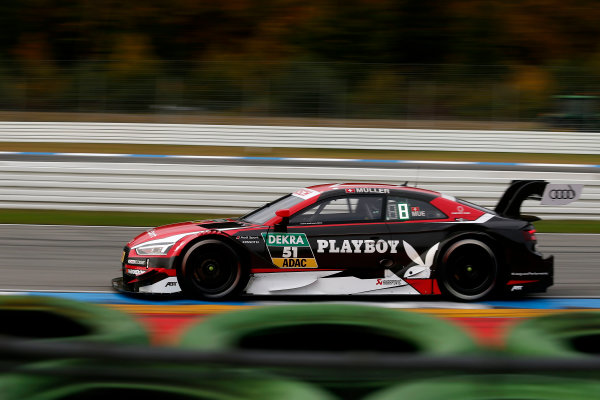 2017 DTM Round 9  Hockenheimring, Germany  Friday 13 October 2017. Nico Müller, Audi Sport Team Abt Sportsline, Audi RS 5 DTM  World Copyright: Alexander Trienitz/LAT Images ref: Digital Image 2017-DTM-HH2-AT2-0345