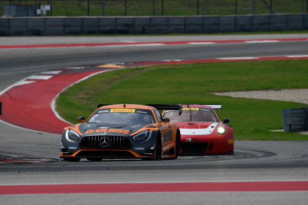 Pirelli World Challenge Grand Prix of Texas Circuit of The Americas, Austin, TX USA Sunday 3 September 2017 Ryan Dalziel/Daniel Morad, Patrick Long/Joerg Bergmeister World Copyright: Richard Dole/LAT Images ref: Digital Image RD_COTA_PWC_17316